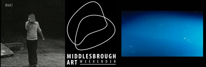 2019-09 BUTLER and ATHERTON Middlesbrough Art Weekender banner - images courtesy of Rose and Michelle