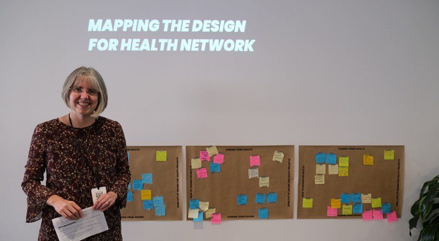 Claire Craig - Mapping the Design for Health network
