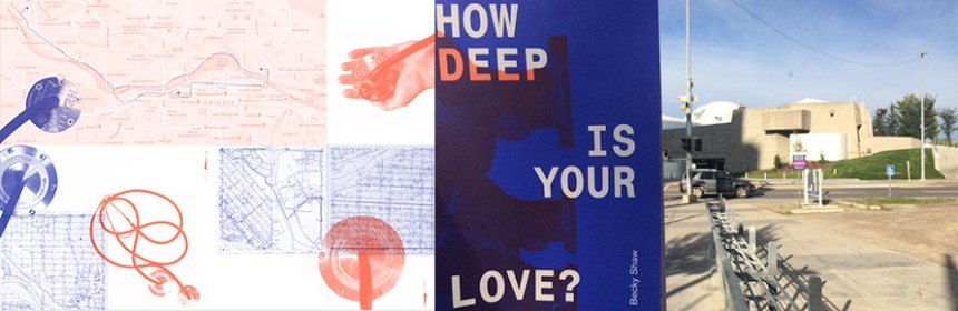 Becky Shaw - How Deep is Your Love? - Banner image by Becky Shaw