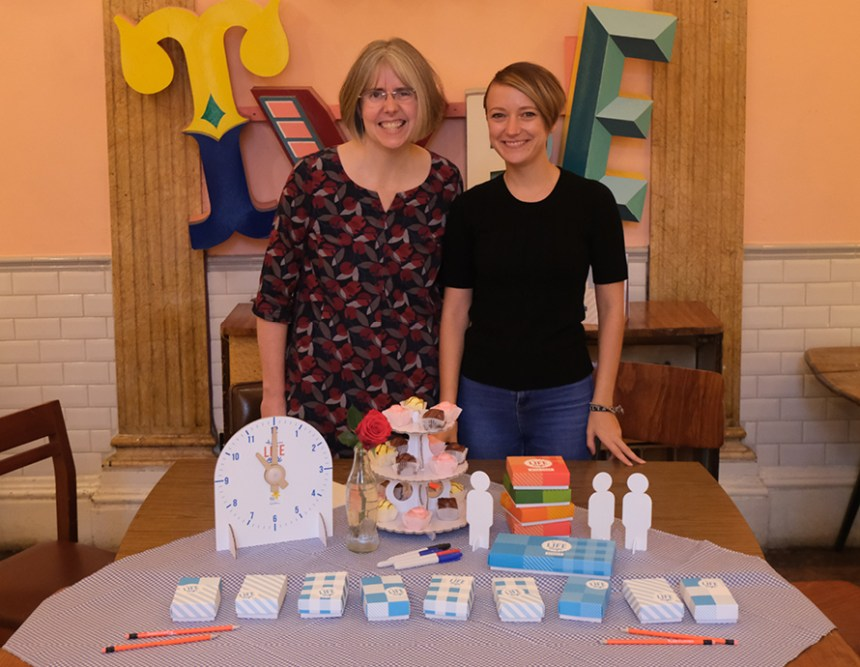Researchers Dr Claire Craig and Helen Fisher