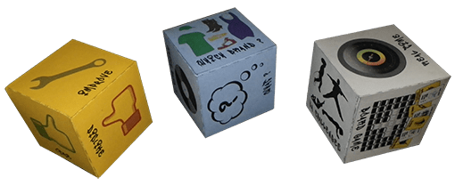 Remi Bec Researcher Blog - Dice to get feedback about prototypes created