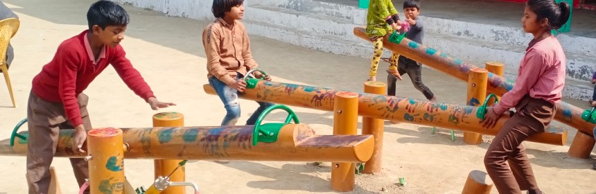 Playponics in action at Primary School Khanpur Garbi!