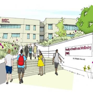 During Phase 1 the Faculty of Social Sciences & Humanities will be re-located to City Campus allowing us to refurbish Robert Winston Building and Heart of the Campus to accommodate the Faculty of Health and Wellbeing.