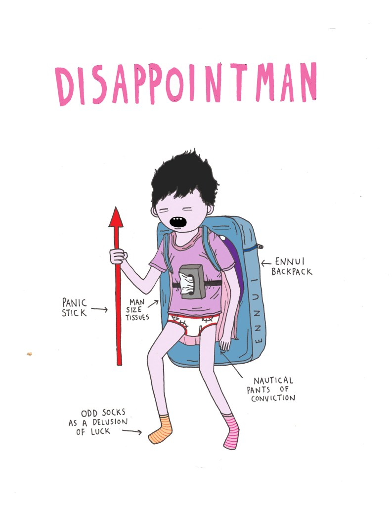 #HallamBigRead19 – 5 minutes with Illustrator, Comedian and Mental Health Advocate Chris Sav aka Disappointman