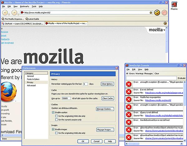 Mozilla Phoenix