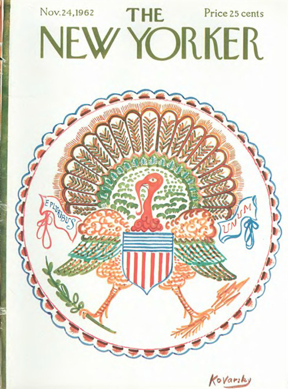 New Yorker 1962 cover