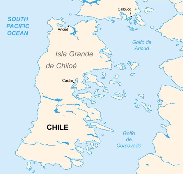 Au Chili l'île des sorciers et des églises (vidéo) By Jack35 629px-Chiloe_Island