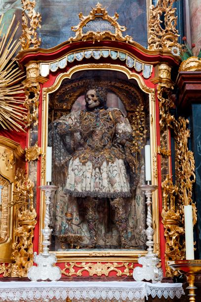 Meet The Fantastically Bejeweled Skeletons Of Catholicism