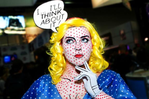 Roy Lichtenstein Pop Art Costume