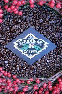 GoodBean Coffee Co. Christmas logo