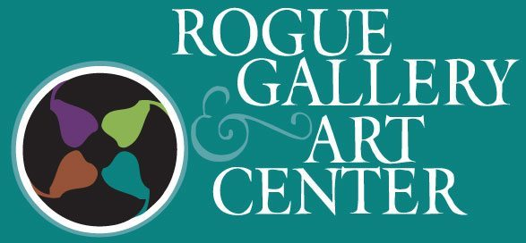 Rogue Gallery and Art center logo Medford Oregon