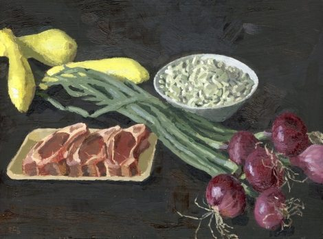 Art Trivia Quiz at Smithfield's : Sarah Burns, Lamb Chops for Smithfields Restaurant