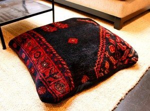 Artisan Recycled Pillow for Third Annual furnARTure Benefit Event