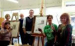 Drink and Draw: Art a la Carte at Rogue Gallery and Art Center