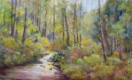 Jackson Creek, pastel by Steve Bennett