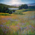 Billings Pond/Morning by Silvia Trujillo