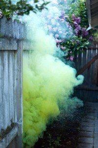 image Melissa Mankins titled Yellow Smoke