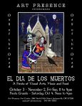 Art Presence Art Center Second annual Creative Challenge - El Dia De Los Muertos October 2014