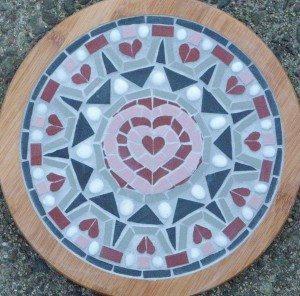 Heart Mosaic by Stephanie Tempest