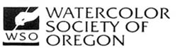 WSO Watercolor Society of Oregon logo
