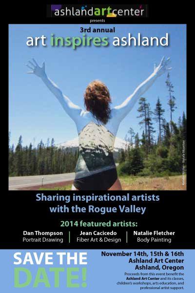 Art Inspires Ashland 2014 Flyer