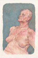 Patrick Kernan, Portland, OR: Amanda, Watercolor and Pastel Pencil, 21x14