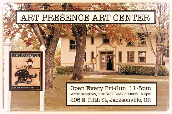 Art Presence - location information and image of gallery exterior