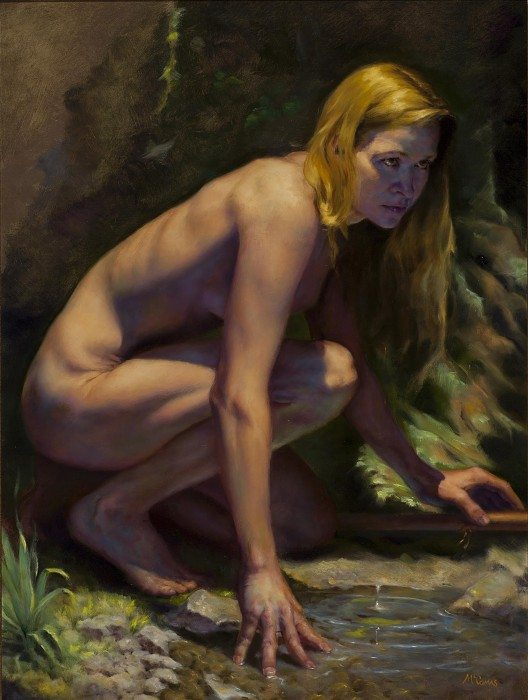 Diana, by James McComas, wins Clatsop Community college Au Naturel People's Choice Award