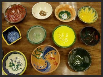 2017 Empty Bowls Throw-a-thon - Empty Bowls Pizza Party at Ashland Art Center on April 8, 2015! Make you bowl to donate to this year's Emty Bowls event in Ashland!