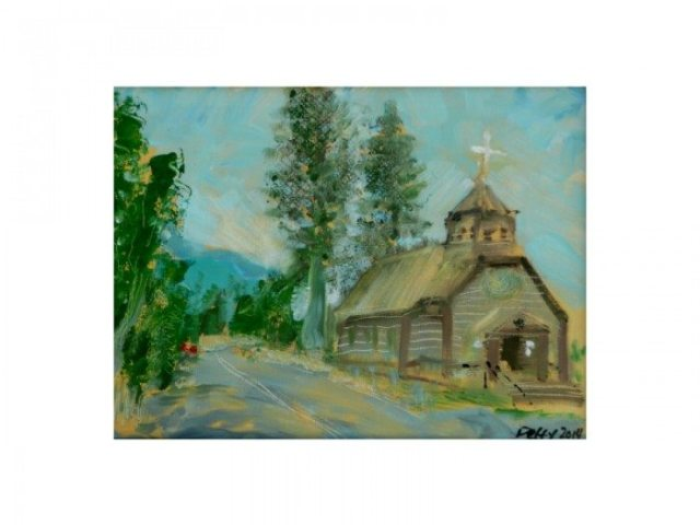 Cheryl Petty's Winning Plein Air Painting from the 2014 Paint the Town event