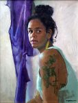 Ashland Art Center Additional Class Offerings, February 2016 : Portrait Drawing and Painting with Jenay Elder