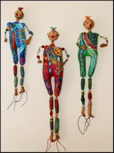 Saturday Art Workshops at Kindred Spirits : Whimsical Figures Saturday Workshop with Cathy Dorris at Kindred Spirits, Talent, Oregon on June 25 , 2016