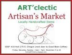 ARTClectic Artisans Market Announcement