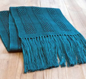 Ashland Gallery Association Featured Gallery Exhibits January 2017 - Hand Woven Scarf by Angelique Stewart