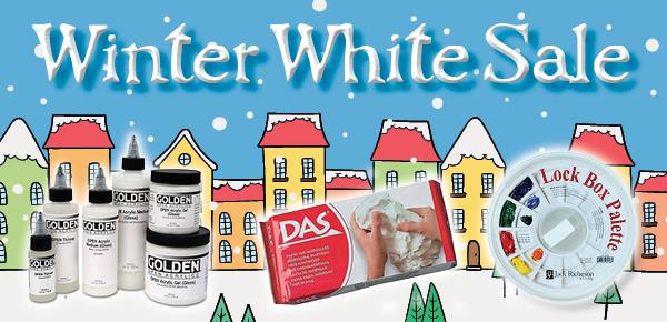 Winter White Sale Central Art Supply January - February 2017