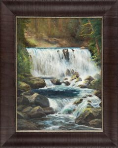 middle falls, by Connie Fribance