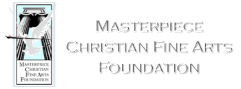 Masterpiece Christina Fine Arts Foundation logo and header image