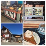 Poets & Painters & Pie workshop with Anna Elkins and Mindy Carpenter at Pennington Farms, Applegate Vallte Valley, November 11, 2017