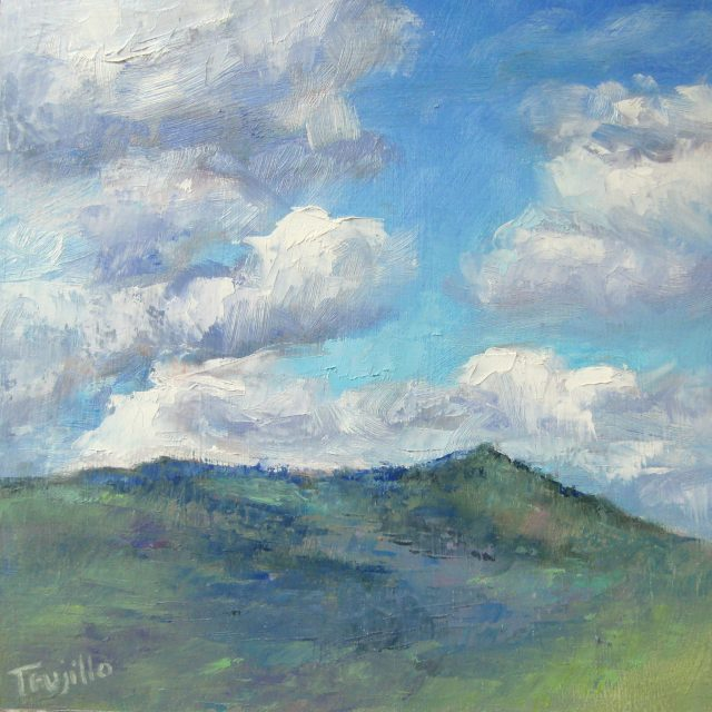 "5. ""Grizzly Peak Reposed"" is the first in that series. You can see images of all the Grizzly Peak paintings here, on my blog."