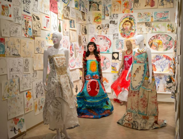 Maria de Los Angeles, installation at El Museo del Barrio, New York, NY, 201