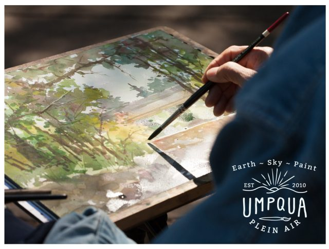 Umpqua Plein Air 2018 at the Umpqua Arts Association in Roseburg, Oregon