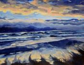 GPMA Adult Art Classes: Now through July 2018 - How to Paint Waves - Adult Art Classes at Grants Pass Museum of Art, Grants Pass, Oregon