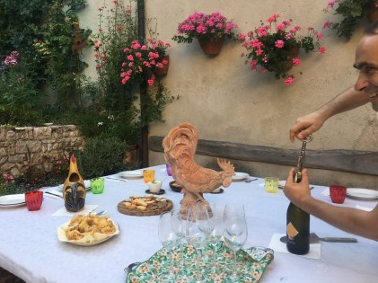 Natural Painting Workshop in Italy! Enjoy Italian home cooking!