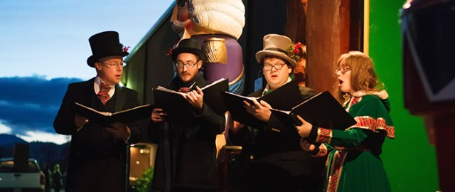 Holiday Singers, Rogue Winterfest 2018 at Evergreen's Bear Hotel