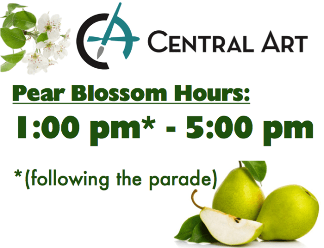 Central Art Suply 2019 Pear Blossom Hours
