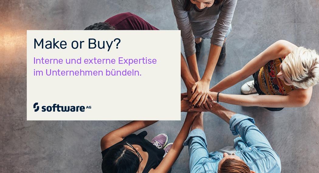 Interne und externe Expertise im Unternehmen bündeln