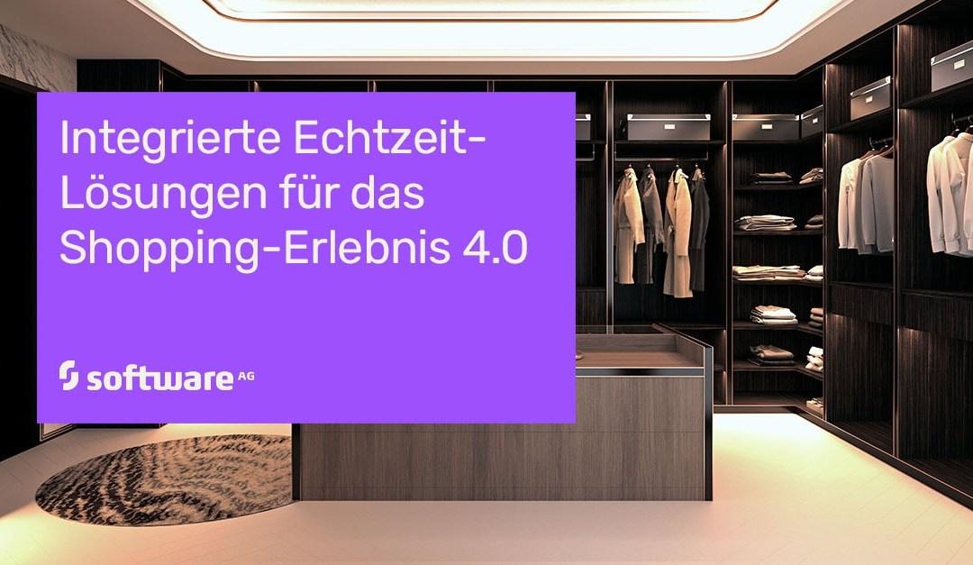 Shopping 4.0 mit Digitalisierung