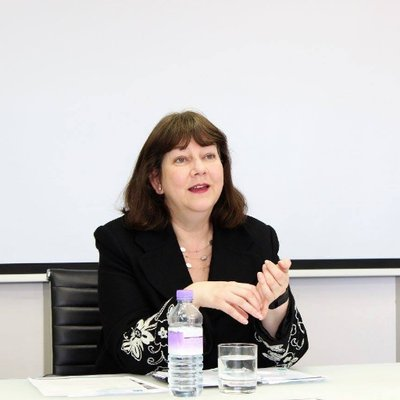 Dr June Dennis - the new Dean of Staffordshire Business School