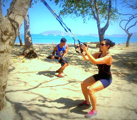 Set-up your TRX Suspension Trainer anywhere-outdoors, home or even in hotels!