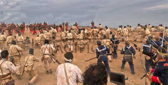 Batalla de Arica (película Gloria del Pacífico)